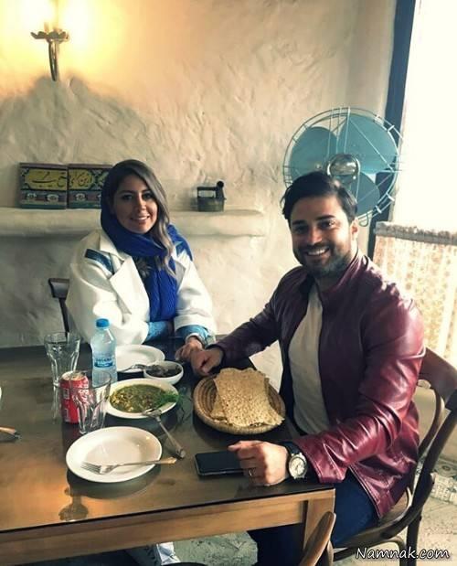 تصاویر سلبریتی های ایرانی و همسرانشان
