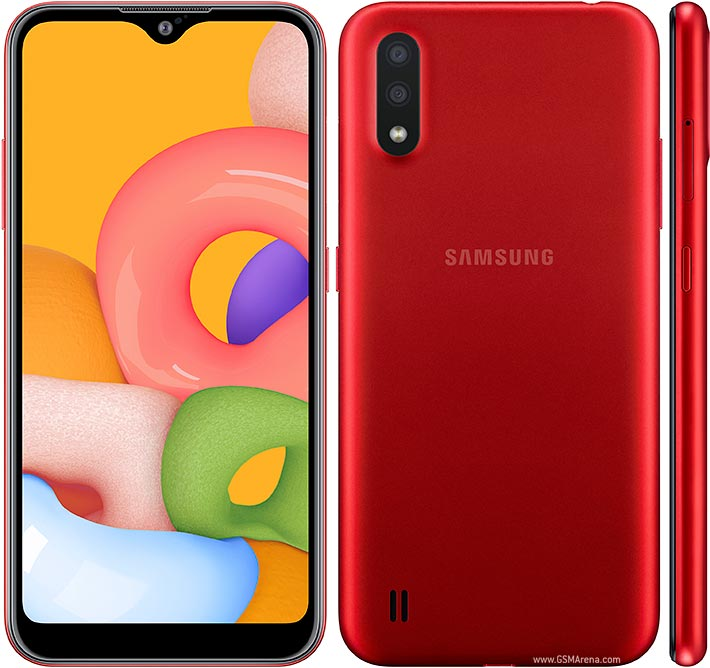 گوشی موبایل سامسونگ گلکسی مدل Galaxy A01 SM-A015F/DS دو سیم کارت ظرفیت 16 گیگابایت