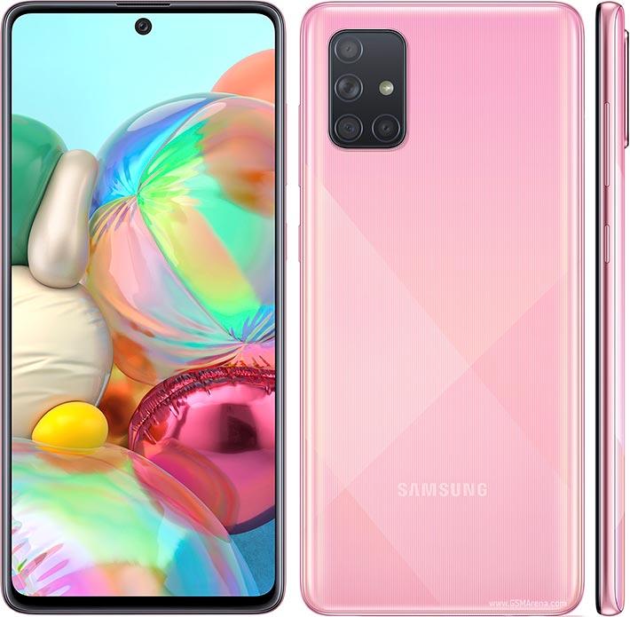 گوشی موبایل سامسونگ گلکسی مدل Galaxy A71 SM-A715F/DS دو سیمکارت ظرفیت 128 گیگابایت همراه با رم 6 گیگابایت