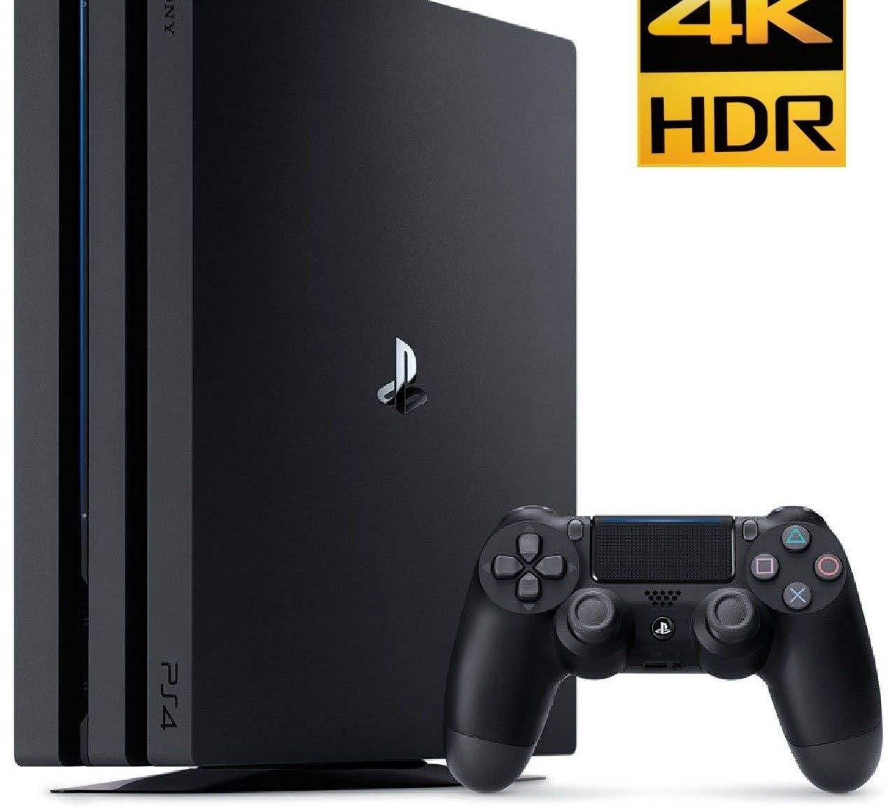 کنسول بازی سونی مدل Playstation 4 Pro ریجن 2 کد CUH-7216B ظرفیت 1 ترابایت