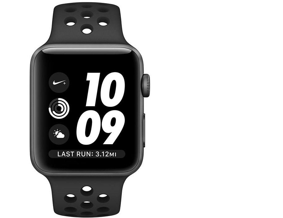 Apple Watch Series 3 Nike Plus 38mm Space Aluminum Case with Nike Sport Band
