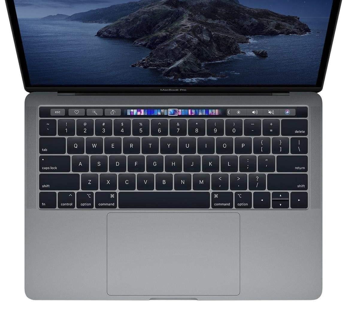 لپ تاپ 13 اینچی اپل مدل MacBook Pro MUHP2 2019 همراه با تاچ بار