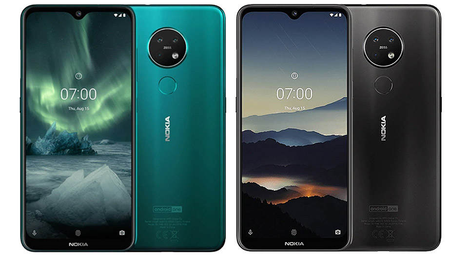 Nokia 7.2 TA-1196 DS Dual SIM 128GB With 6GB Ram Mobile Phone