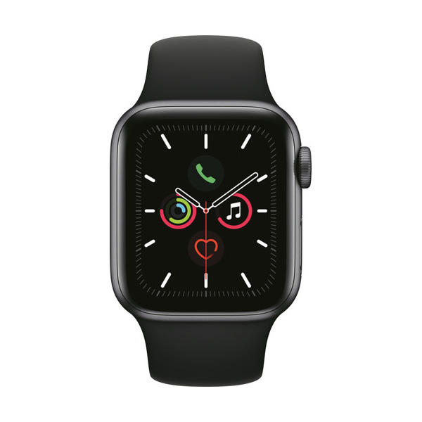 Apple Watch Series 5  Space Aluminum Case Sport Band