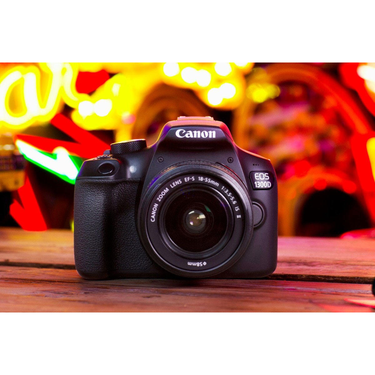 Canon EOS 1300D Digital Camera with 18-55mm IS II Lens