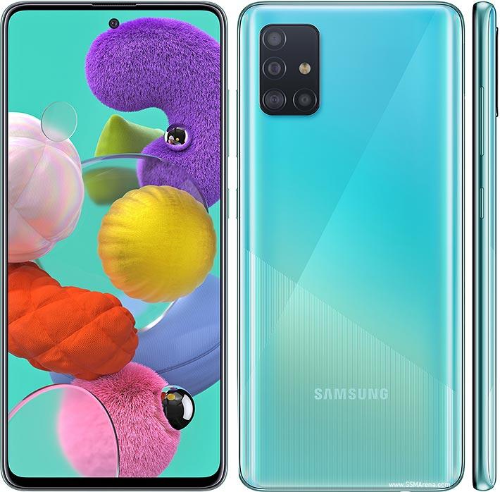گوشی موبایل سامسونگ گلکسی مدل Galaxy A51 SM-A515F/DSN دو سیم کارت ظرفیت 128گیگابایت